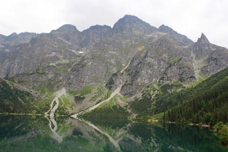 mnich: Eye of the Sea, Tatra Mountains, Poland