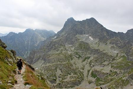 mnich: Mieguszowiecki mountain in Polish Tatras