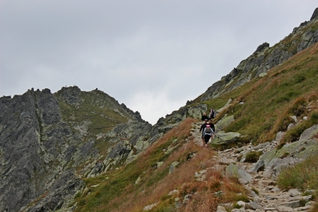 Mountains Tatry in Poland