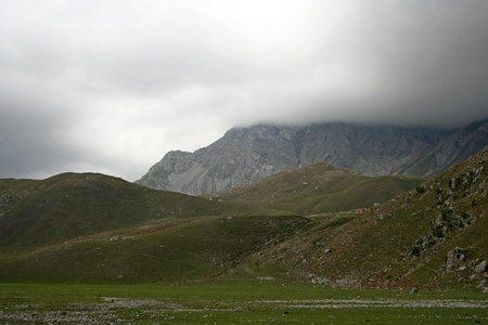 kyrgyzstan: Kirguist�n Paisaje de la naturaleza