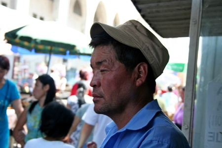 kyrgyzstan: Bazaar en Kirguist�n