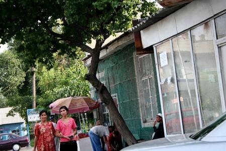 kyrgyzstan: Bazar en Kirguist�n