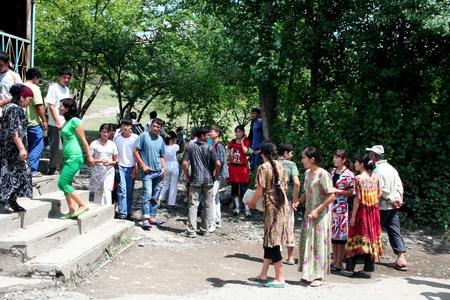kyrgyzstan: Disco en Arslanbob, Kirguist?n