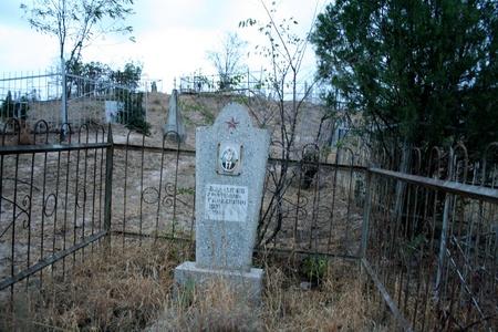Soviet cementary in Jalalabad  Kyrgystan
