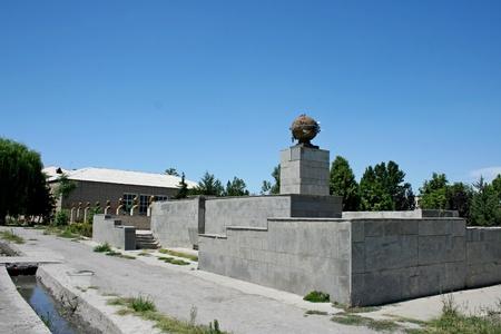 kyrgyzstan: Edificio del gobierno, Kirguist�n