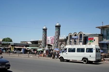 kyrgyzstan: Bazaar en Uzgen, Kirguist?n
