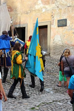 nosferatu: Old Orava castle in Slovakia Editorial