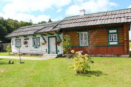 traditonal: Traditonal houses in Podlasie, Poland