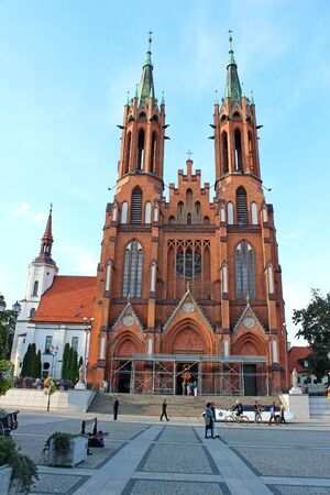 Basilica in Bialystok, Poland