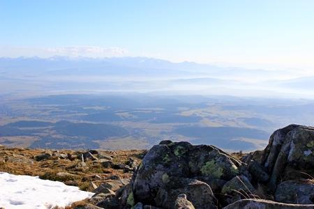 gora: Babia Gora mountain, Poland Stock Photo