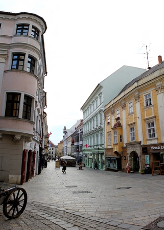 slovakia: Bratislava, Slovakia Editorial