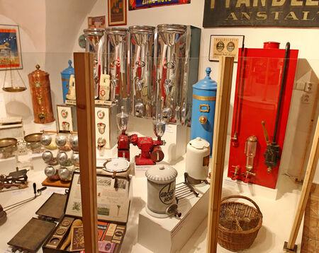 slovakia: Shop Museum, Bratislava, Slovakia Editorial