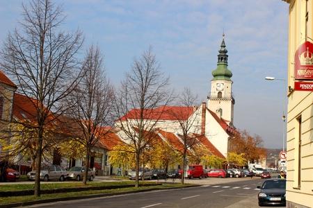 Catholic Church in city Modra, Slovakia Editorial