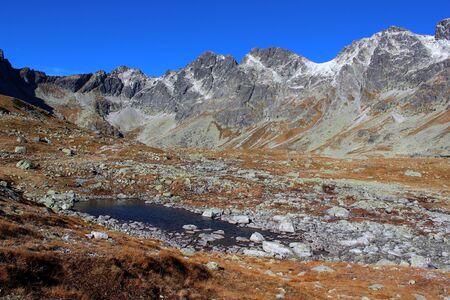 tatry: Mengusovska valley in High Tatras, Slovakia