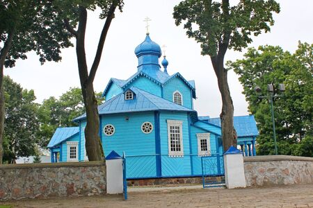 narew: Orthodox church in Narew, Podlasie, Poland Editorial
