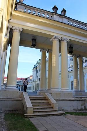 edifice: Branicki Palace is a historical edifice in Bialystok, Poland Editorial