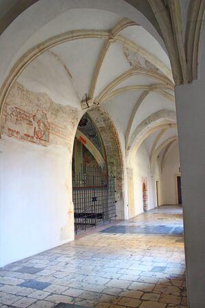 cracow: Benedictine monastery in Tyniec near Cracow, Poland Editorial