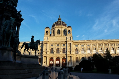 Hofburg palace in Vienna Austria - cityscape architecture background