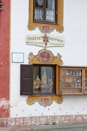 in bavaria: Mittenwald in Bavaria Germany Editorial