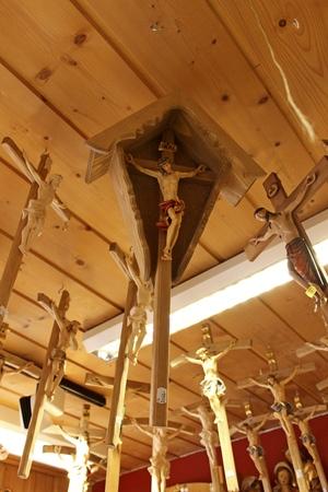 wood carvings: Wood carvings in Oberammergau, Germany Editorial