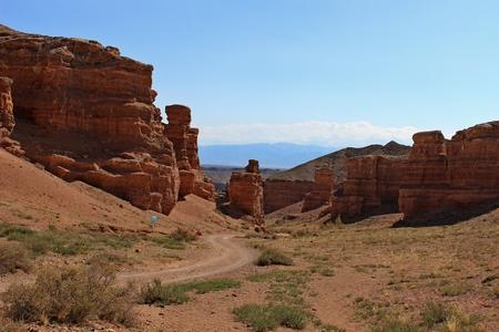 kazakhstan: Charyn canyon in Kazakhstan