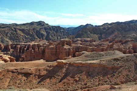 kazakhstan: Charyn grand canyon in Kazakhstan