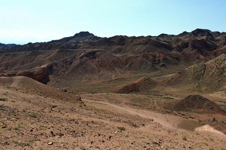 kazakhstan: Charyn Canyon. Kazakhstan.