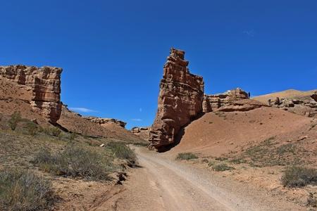 Charyn Canyon. Kazakhstan.