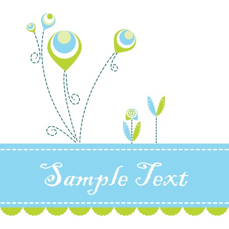 Vector of flyer Stock Vector - 4986852