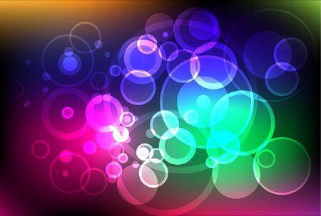 sanctity: Sfondo celeste luci scintillanti Vettoriali
