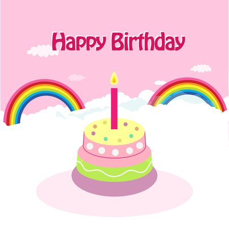 Birthday greeting card - Art   Illustration