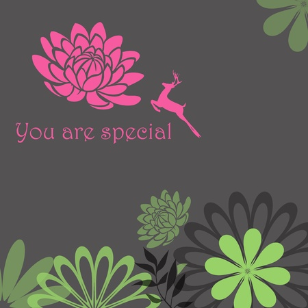 You Are Special Vector