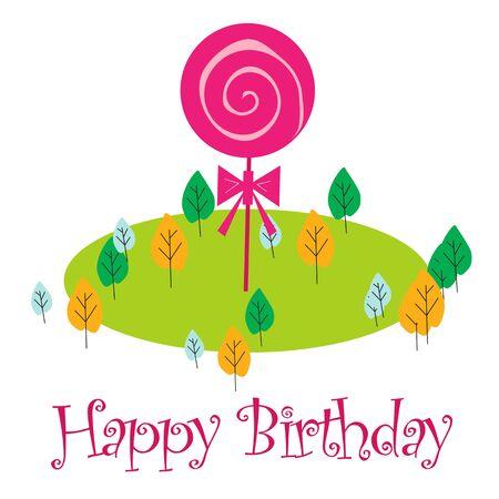 Birthday celebration - Art  Illustration