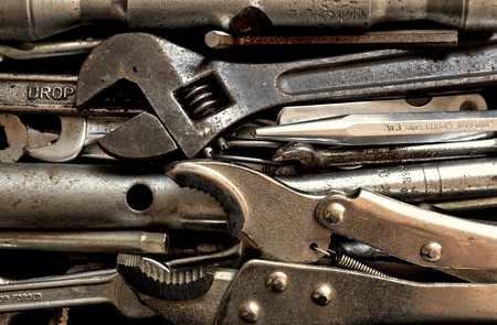 doityourself: Old used do-it-yourself tools
