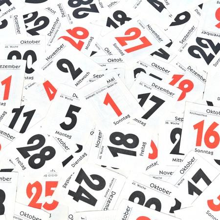 Calendar days Stock Photo - 13006051