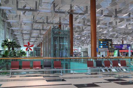 Changi Airport in Singapore - Terminal 3 Architecture