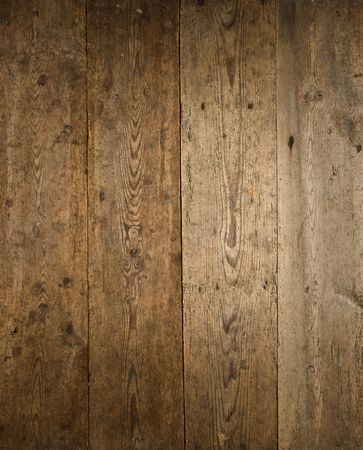 Old textured brown and black wood boards.