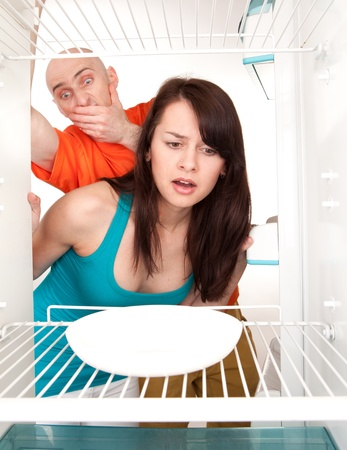Domestic disagreement about shared marital responsibilities. Stock Photo - 9526768