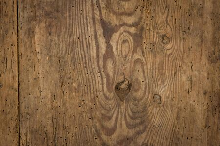 Old textured brown and black wood boards. photo