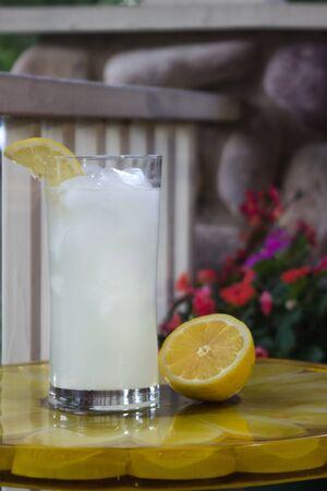 Lemonade on Flower Table