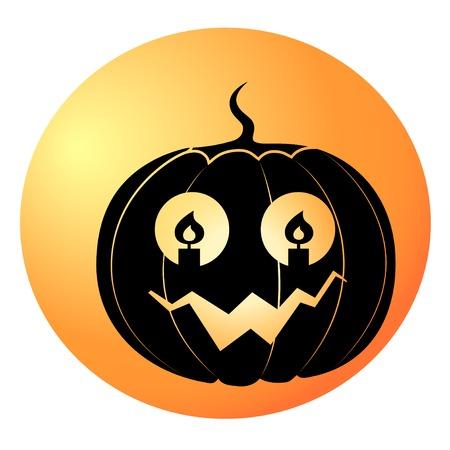 halloween, pmpkin, contour, black, candles