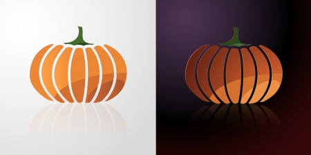 Pumpkin Icon, orange icon, vegetable