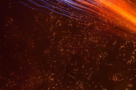 foci: Fireworks sparks