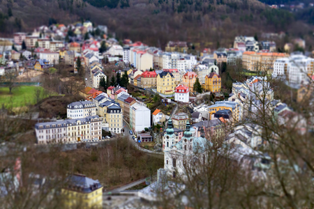 Karlovy Vary in miniature