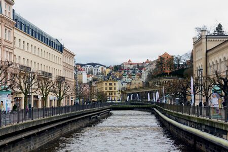 River and Karlovy Vary