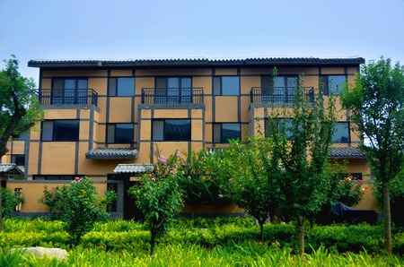 Lingshan town Qi County, Henan province is located in the West of the county