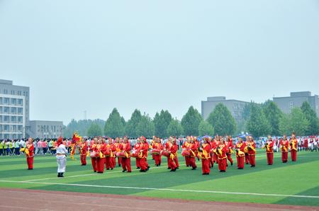 performing: Prestige drums performing