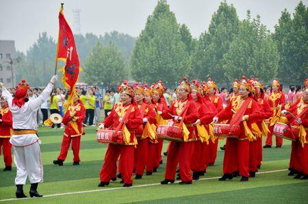 ethnic customs: Prestige drums performing