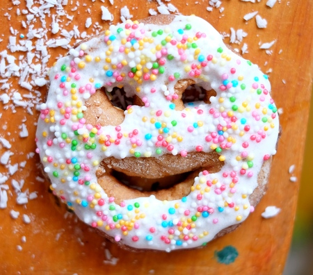 gingerbread: Gingerbread smile