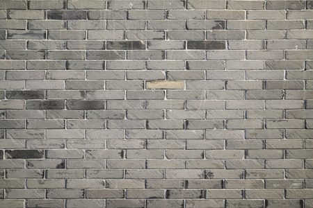 brickwalls: Green brick wall Stock Photo